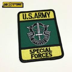 Patch SPECIAL FORCES U.S. ARMY De Oppresso Liber Militare Softair Colla a Caldo