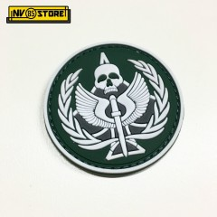 Patch in PVC Scheletro Call of Duty OD 65mm Militare Softair con Velcrogrip