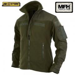 Felpa MFH Combat OD Multitasche Vest Tattica Caccia Militare Softair Survivor