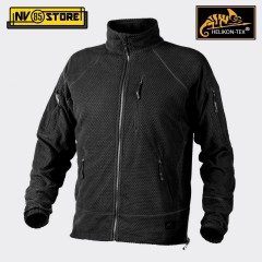Felpa HELIKON-TEX Alpha Tactical Fleece Pile Caccia Softair Militare Outdoor BK