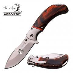 KNIFE COLTELLO ELK RIDGE 162B DA CACCIA PESCA SURVIVOR SURVIVAL FOLDING CAMPING