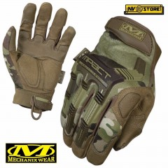 Guanti MECHANIX M-PACT Tactical Gloves MPT MULTICAM Softair Antiscivolo Caccia