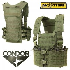 Gilet Tattico Combat Tactical Vest CONDOR USA Verde OD Modulare Chest CS Softair