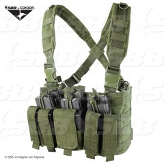 Gilet Tattico Combat Tactical Vest CONDOR USA Verde Modulare Recon MCR5 Softair