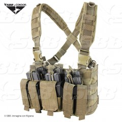 Gilet Tattico Combat Tactical Vest CONDOR USA Coyote Modulare Recon MCR5 Softair