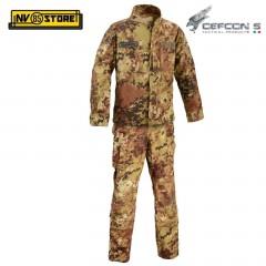 Uniforme Mimetica DEFCON 5 Nuovo Modello Vegetato ITA Militare RIPSTOP Softair