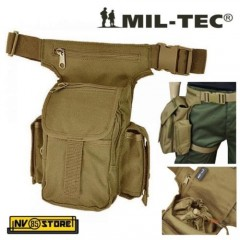 MARSUPIO COSCIALE MIL-TEC NYLON 1000D MULTI PACK COYOTE TAN SOFTAIR CAMPING