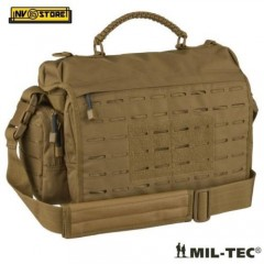 BORSA TATTICA MILTEC TACTICAL PARACORD BAG LASER CUT SOFTAIR SURVIVOR LARGE TAN