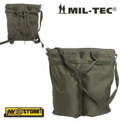 MIL-TEC FLYER HELMET BAG ZAINO BORSA PORTA ELMETTO CASCO OD MILITARE SOFTAIR