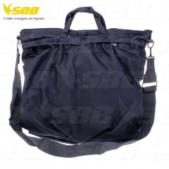 HELMET BAG SBB BRANCALEONI PORTA ELMETTO PILOTI MILITARE SOFTAIR SURVIVOR NAVY B