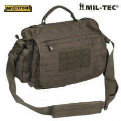 BORSA TATTICA MILTEC TACTICAL PARACORD BAG LASER CUT SOFTAIR SURVIVOR LARGE OD
