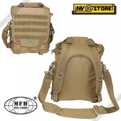 ZAINO TATTICO BORSA TRACOLLA MFH TAN MODULAR SISTEM BACKPACK SOFTAIR SURVIVOR