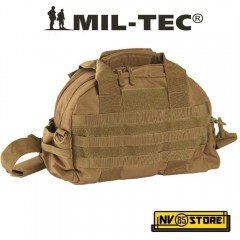 BORSA TRACOLLA TATTICA MILTEC AMMO SHOULDER TACTICAL BAG SOFTAIR SURVIVOR COYOTE