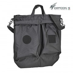 HELMET FLIGHT BAG DEFCON 5 PORTA ELMETTO PILOTI MILITARE SOFTAIR SURVIVOR NERO