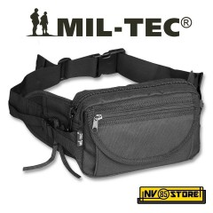 MARSUPIO VITA O TRACOLLA MIL-TEC NERO BLACK MULTITASCHE SOFTAIR SURVIVOR CAMPING