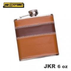 Fiaschetta Tascabile Rivestita Flask JKR93 Acciaio 170ml 6oz Portaliquori Whisky