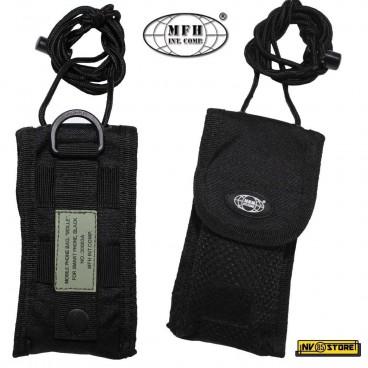 Tasca Porta Cellulare Smartphone Coltello Folding MOLLE MFH da Cintura SOFTAIR B