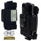 Tasca Porta Radio Cellulare Smartphone Regolabile MOLLE MFH da Cintura SOFTAIR B