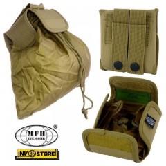 Tasca Utility Bag M.O.L.L.E. MFH Portacaricatori Esausti Porta Oggetti SOFTAIR C