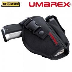 Fondina Pistola da Cintura Cinturone UMAREX Universale con Portacaricatore NERA