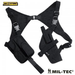 Fondina da Spalla Ascellare per Pistola Universale MILTEC Holster Cordura BLACK