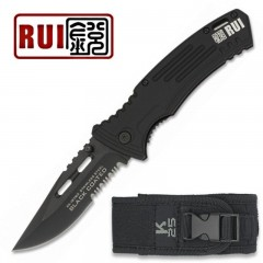 KNIFE COLTELLO RUI K25 19763 PRIMO SOCCORSO EMERGENCY CACCIA PESCA SURVIVOR