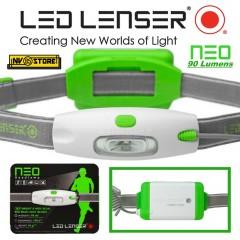 LED LENSER Torch NEO G NEW TORCIA DA TESTA LAMPADA FRONTALE DA FRONTE + Batterie