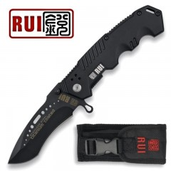 KNIFE COLTELLO RUI 19132 TITANIUM PRIMO SOCCORSO EMERGENCY CACCIA PESCA SURVIVOR