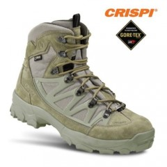 CRISPI Stealth Plus GTX Anfibi Militari in GORETEX Boots Security Vera Pelle FG