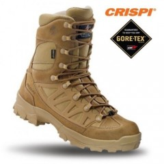 CRISPI Apache GTX® Anfibi Militari Coyote in GORETEX® Boots Security Vera Pelle