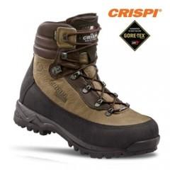 CRISPI Lapponia GTX Anfibi Militari GORETEX e PELLE Boots Outdoor Caccia Softair