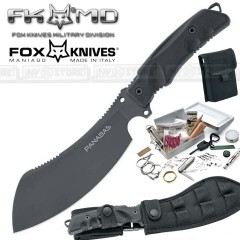 KNIFE COLTELLO FOX KNIVES MANIAGO PANABAS 509 ORIGINALE MADE IN ITALY SURVIVOR