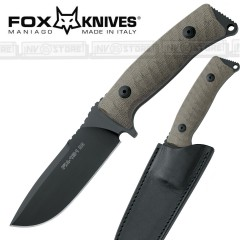KNIFE COLTELLO FOX KNIVES MANIAGO 131MGT ORIGINALE MADE IN ITALY CACCIA SURVIVOR