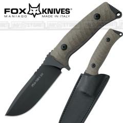 KNIFE COLTELLO FOX KNIVES MANIAGO 131MGT ORIGINALE MADE IN ITALY CACCIA SURVIVOR