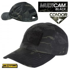 CAPPELLO BERRETTO CONDOR MULTICAM BLACK ORIGINALE US ARMY RIP-S MILITARE SOFTAIR BK