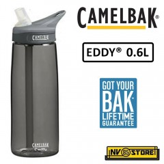 Bottiglia Borraccia CAMELBAK Eddy Bottle 0,6 Lt 600 ml 20 oz Ermetica Charcoal