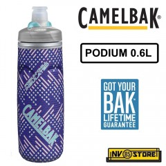 Bottiglia Borraccia CAMELBAK Podium Chill Bottle 0,62L 21 oz Ermetica Periwinkle