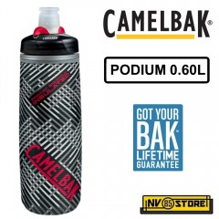 Bottiglia Borraccia CAMELBAK Podium Chill Bottle 0,62L 21 oz Ermetica Nero BK