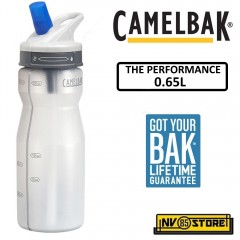 Bottiglia Borraccia CAMELBAK The Performance Bottle 0,65L 22oz Trasparente Clear