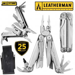 LEATHERMAN SURGE INOX NEW VERSION PINZA MULTIFUNZIONE PLIER MULTITOOL + FODERO