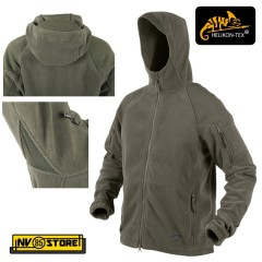 Felpa HELIKON-TEX Cumulus Tactical Fleece Pile Caccia Softair Militare Outdoor G
