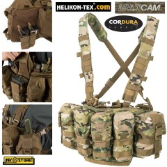 Gilet Tattico HELIKON-TEX Guardian Chest Rig MULTICAM® CORDURA® Militare Softair
