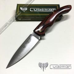 KNIFE COLTELLO CACCIA CUDEMAN 442 PROFESSIONAL PESCA HUNTING SURVIVOR SURVIVAL