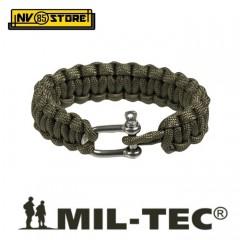 Bracciale Braccialetto MILTEC PARACORD Bracelet 1,9 cm Treccia 17, 20, 23 cm OD
