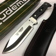 KNIFE COLTELLO CACCIA CUDEMAN MT-3 297M ACCIAIO INOX MOVA PESCA HUNTING SURVIVOR