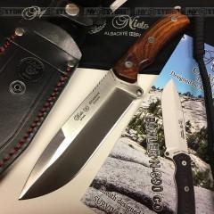 KNIFE COLTELLO MIGUEL NIETO CHAMAN 141CB INOX BOHLER N-690 Co BUSHCRAFT SURVIVOR