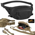 Marsupio HELIKON-TEX Possum CORDURA® Tattico Militare Softair Caccia NERO BK