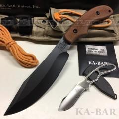 KNIFE COLTELLO KA-BAR ADVENTURE SET SPESSORE 6mm SURVIVOR CACCIA SOPRAVVIVENZA