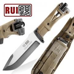 KNIFE COLTELLO CACCIA RUI K25 32071 CON ACCIARINO SURVIVOR SOPRAVVIVENZA RAMBO