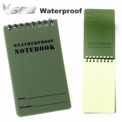 Block Notes Impermeabile Waterproof dimensioni 12,1 x 7,8 cm Acqua Resistente OD